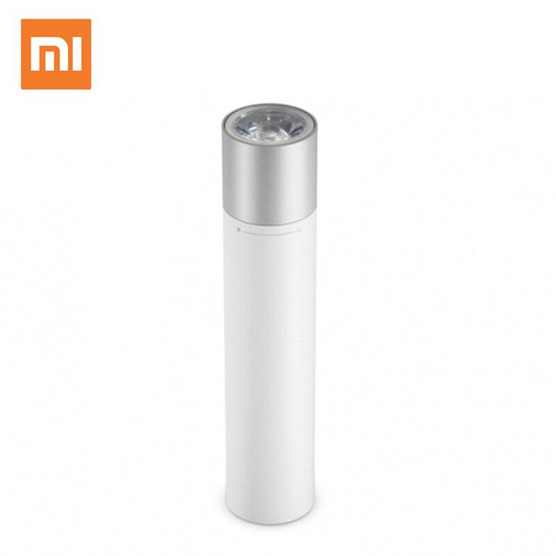 D'origine Xiaomi Portable Lampe De Poche Extrêmes Simple Conception 11 Grade Éclat Contrôle 3350 mAh Li-Batterie D'urgence De Charge
