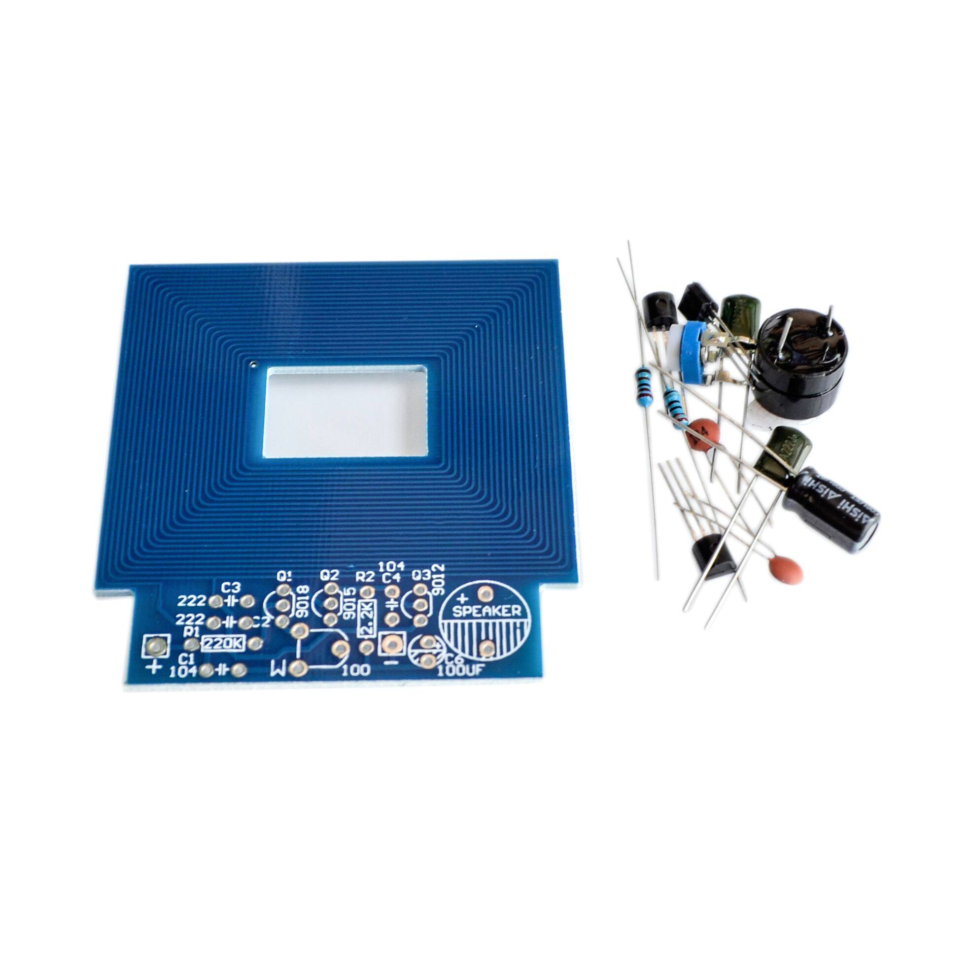 Online Shop 10sets Metal Detector Scanner Finder Sensor Electronics Integrated Circuit4558d Ic Circuitintegrated Circuits Unassembled Kit Project 3 5v Diy Suite Trousse Boards Module