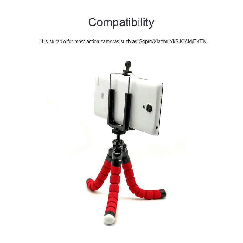 """Штатив для экшн-камеры Gopro hero 7 гибкий мини штатив-тренога """"осьминог"""" аксессуары для спортивной экшн-камеры Go Pro hero 6 5 4 3 2 крепление для спортивной экшн-камеры Xiaomi yi 4 k Экшн-камера Eken H9 спортивной экшн-камеры SJCAM"""