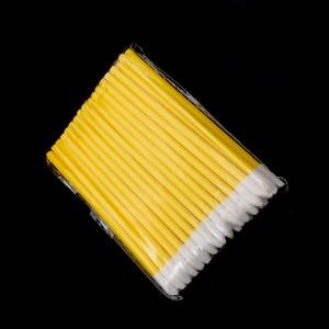 Image 4 - 1000 шт. одноразовых косметических искусственных помад, Кисть для макияжа, ручка, помада, тушь, палочки