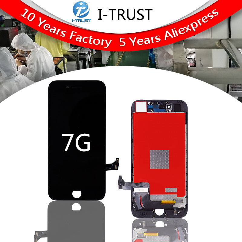 2 Pieces AAA Tianma LCD For iPhone 7 LCD Touch Screen Display Digitizer Assembly Replacement 4