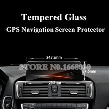 GPS Navigation Screen Protector For BMW 1 2 3 Series F20  F22 F30 Large Size