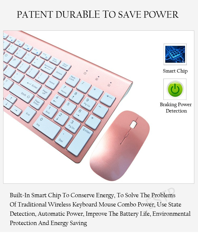 smooth body 2 4ghz wireless keyboard and mouse combo 102 keys low noise wireless keyboard mouse. Black Bedroom Furniture Sets. Home Design Ideas