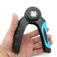 New Digital Calorie Hand Grips Increase Strength Spring Finger Pinch Expander Hand A Type Gripper Exerciser