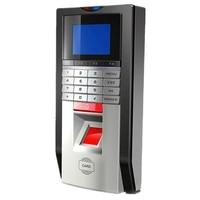 TCP IP 125Khz RFID Biometric Fingerprint Access Control Keypad Time Attendance With SDK Power Supply