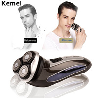 3D Triple Floating Blade Heads Rechargeable Electric Shaver Men Shaving Machine Razors Face Care Beard Trimmer