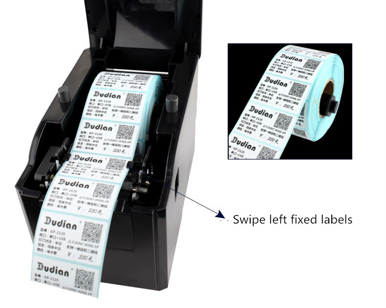 Lojas de fábrica 58mm Bluetooth versão largura
