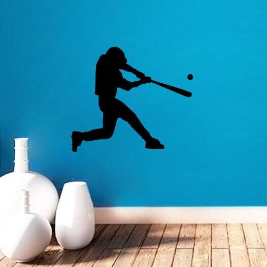 Great Baseball Wall Murals Design Ideas