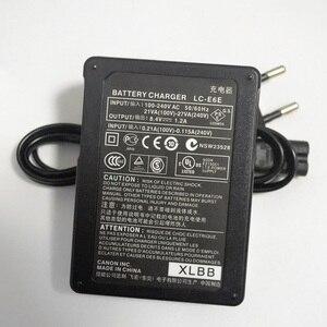 Image 3 - カメラのバッテリー充電器 eu プラグ LC E6E LCE6E LCE6 lc E6 E6E キヤノン eos 70D 60D 6D 7D 5D2 5D3 LP E6 8899