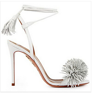 Hot sale 2015 summer new design wild things tassel suede leather fringe sandals women high heels shoes gladiator summer shoe lanyuxuan 2017 new hot sale sandals