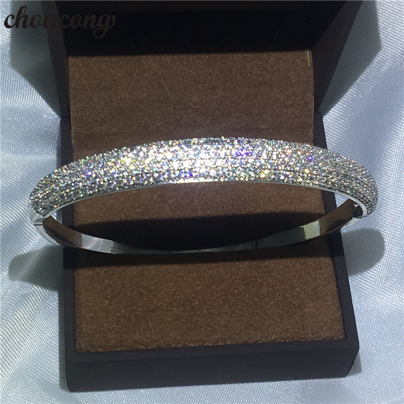 Choucong Jewelry Pave...