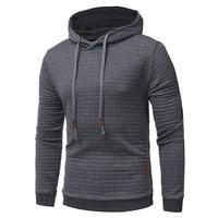 Brand 2017 Hoodie Lattice Jacquard Hoodies Men Fashion Tracksuit Mens Sweatshirt Off White Hoodie Mens Purpose
