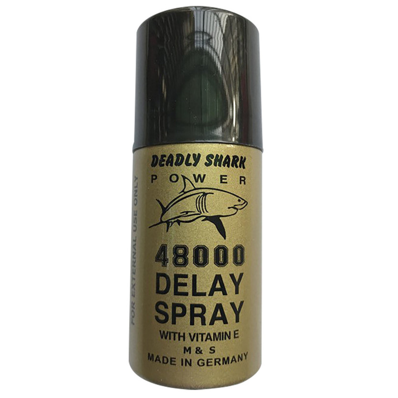 1PC 45ml Delayed Spray Shark Deadly 480000 Overspeed Spray Reduces Male Nursing Spray Delayed Ejaculation Sensitivity #4J3