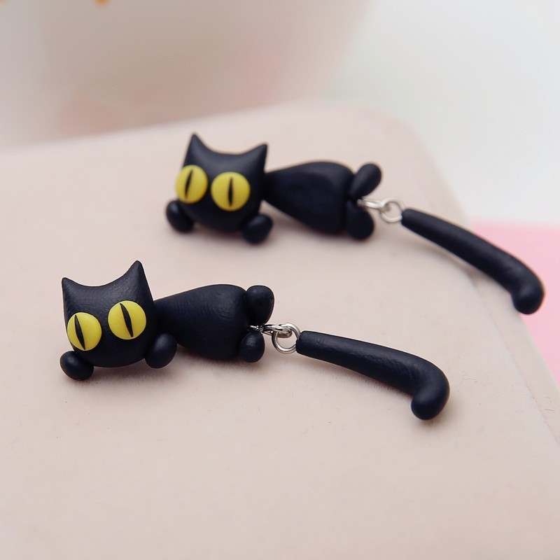 HTB1btUHIpXXXXbFaXXXq6xXFXXXZ - Black Cat Cute Earring - MillennialShoppe.com | for Millennials