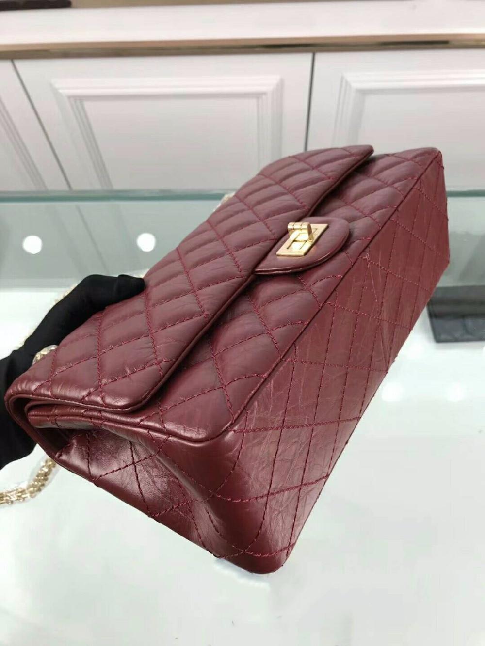 Leder Qualität Berühmte Marke Frauen Klassische Echt Geldbörsen Luxus Top Runway Weibliche Mode 100 Handtasche Designer Wa01426 aCwaIq