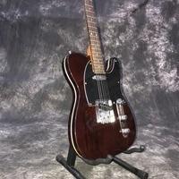 custom shop,TELE 6 Strings Rosewood fingerboard handwork Electric Guitar,telecasterr gitaar.brown guitarra