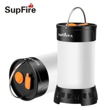 USB фонарик Кемпинг лампы светодио дный Torch Light Палатка свет Рыбалка Фонари лампа для Nitecore Sofirn конвой Fenix открытый свет S073