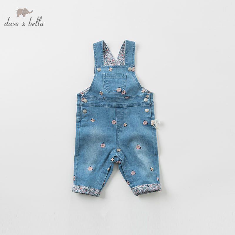 DBZ8202 dave bella autumn baby fashion clothing sets girls lovely long sleeve suits children print clothes