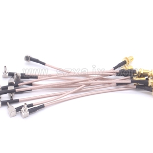 Image 4 - RUS Stock 10PCS RF Pigtail Cable SMA female to TS5/CRC9 right angle RG316 cable For 3G Modem 15cm Russia fast shipping 3 15day