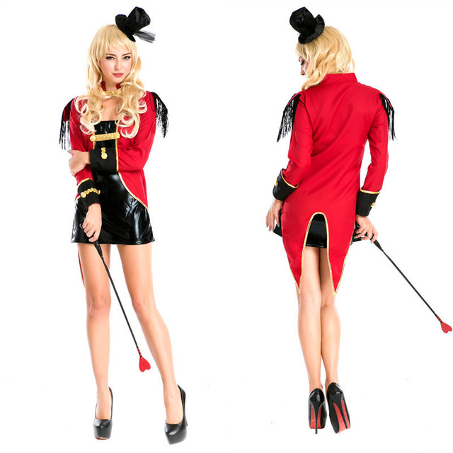 Ladies Ringmaster Costume Adult Sexy Naughty Circus Ringleader Halloween Costumes for Women Fancy Dress  sc 1 st  AliExpress.com & Ladies Ringmaster Costume Adult Sexy Naughty Circus Ringleader ...