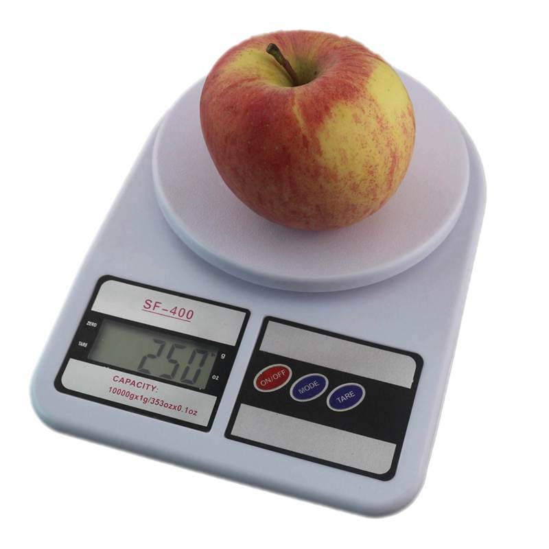 buy digital kitchen scale 10kg food scales balance weight lcd electronic cooking measure tools free shipping from reliable shipping scale