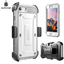 SUPCASE For iphone 7 Case For iPhone SE 2020 Case UB Pro Full Body Rugged Holster Protective Case WITH Built in Screen Protector