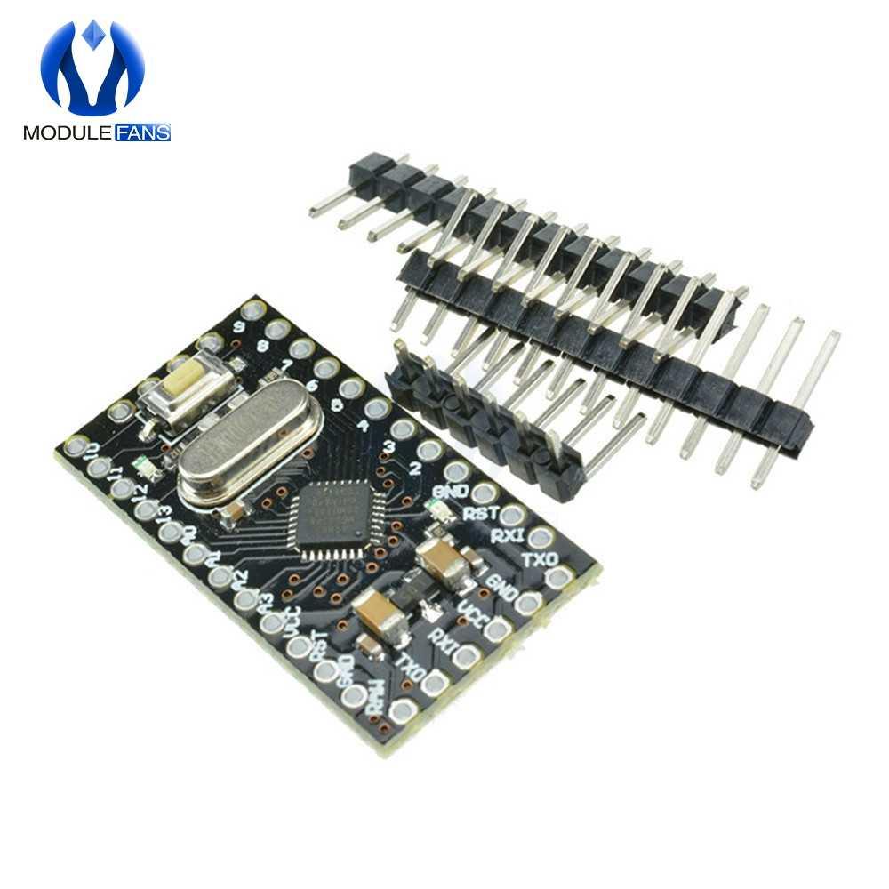 פרו מיני Atmega168 מודול 5 V-12 V 16M לarduino תואם Nano להחליף Atmega328 רמת TTL סידורי משדר יציאת RX/TX