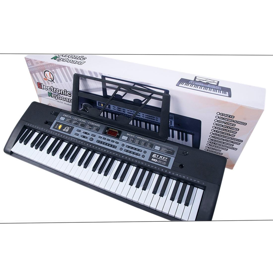 teclado eletrônico placa chave piano elétrico com