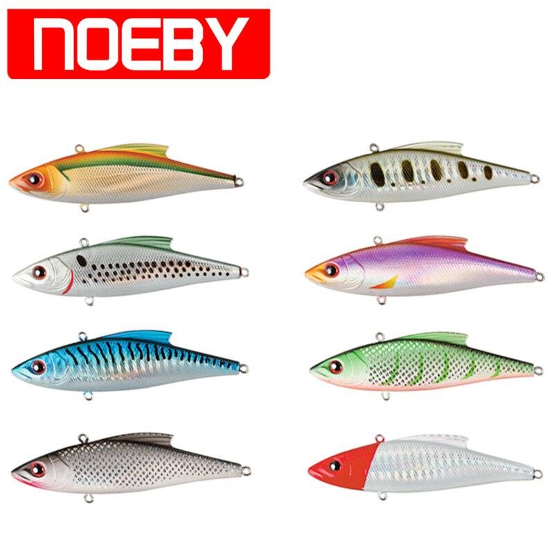 Noeby isca de pesca vib 90mm 33g afundando 0.6-2.0m vmc ganchos chocalho popper pesca wobblers leurre peche sahte souple