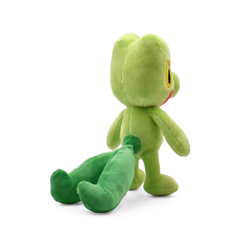 Japan Anime Plush Toys 19cm Treecko Soft Stuffed Animal Doll Toy Collection Kids Gift Baby Dolls Brinquedos in Movies TV from Toys Hobbies