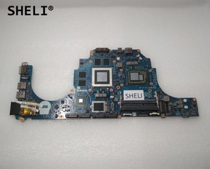 SHELI CN 071T46 071T46 71T46 For Dell Alien ware 15 R1 17 R2 Motherboard with I7 4980HQ GTX980M AAP20 LA B753P|Motherboards| |  -