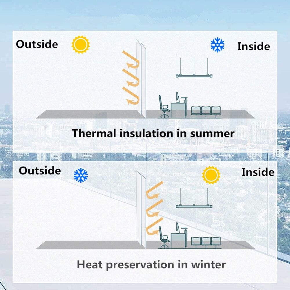 HOHOFILM 43%-73% VLT Film intelligent photochromique 4MIL voiture teinte de fenêtre intelligente double Film de pulvérisation magnétron contrôle de la chaleur 1.52x2 m