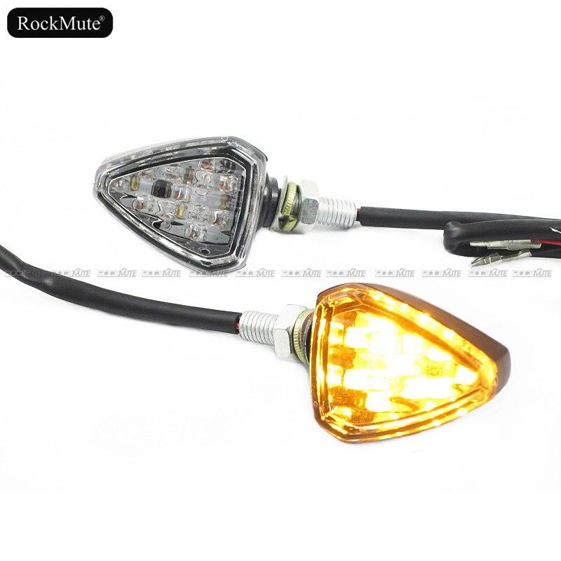 2X Motorcycle LED Turn Signals Light For Yamaha Fazer 700 FZ1 FZ6 FZR600 FJ 1200