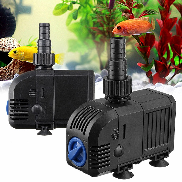 7W-500LPH,8W-600LPH Multifonctional Submersible Water Pump 220V Fish Tank Aquarium Garden Waterfall Fountain Pumps fast shipping 220v led 9800fp fountain pump loose treasure submersible pump aquarium fountain fish tank colorful landscape pump