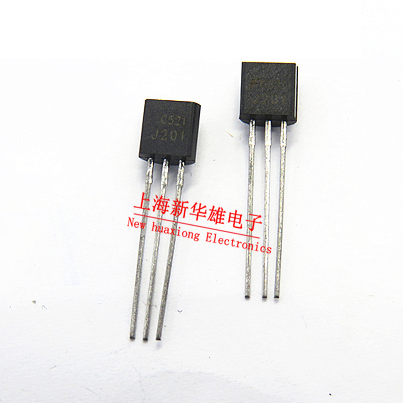 100PCS J201 TO-92 201 JFET JFET N-Channel -40V 50mA 360mW 3.27mW New original free shipping fast delivery