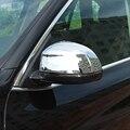 2x накладка на зеркало заднего вида автомобиля для BMW X5 2014-2017 зеркало заднего вида корпус Накладка защита Chorme Серебристая защита для стайлинг...