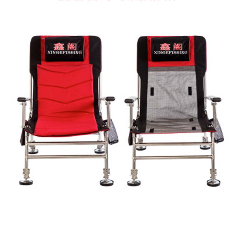 Chairs Serve Both Summer And Four Seasons Beach With  Portable Folding Chairs Outdoor Picnic Seat Oxford Cloth Lightweight Seat