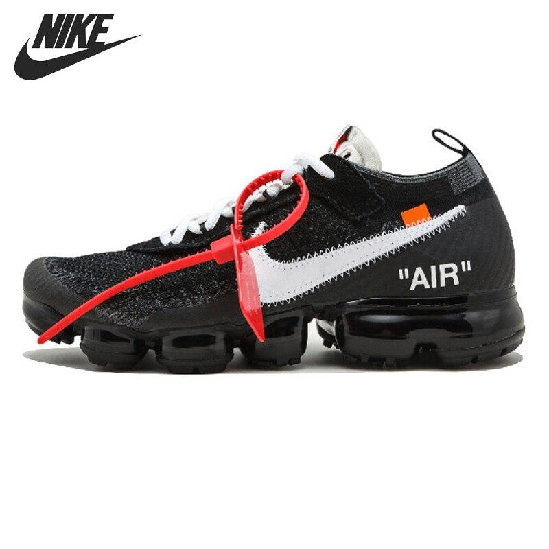 D'origine NIKE Air VaporMax x OFF-BLANC Run hommes Chaussures de Course Sneakers