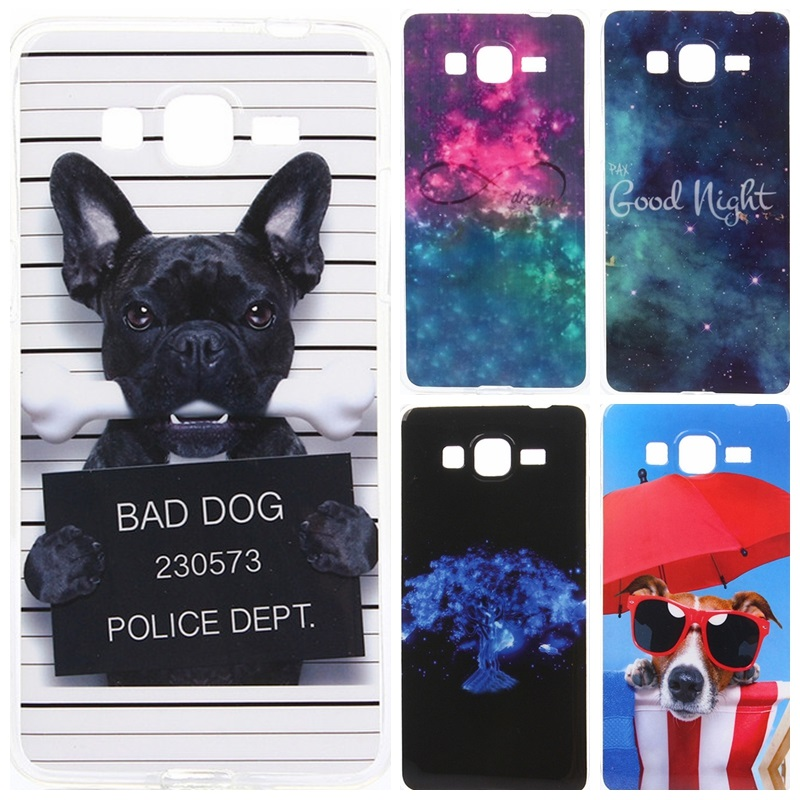 Funny Cartoon Design Case Cover For Samsung Galaxy Grand Prime G530 G530H G531 SM-G531H SM-G531F Soft Silicone TPU Phone Cases