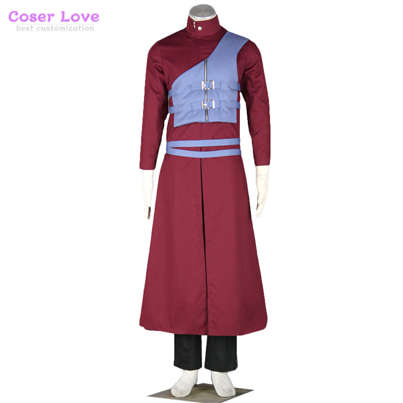 Naruto Shippuden Gaara Cosplay Costume New years Christmas Costume Can t be customized