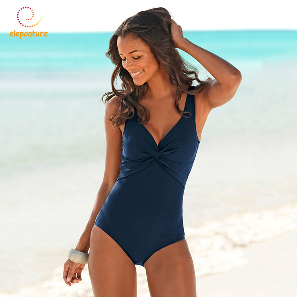 One Piece Swimsuit 2018 Plus Size Swimwear Women Push Up Bodysuit Swimsuit Retro Vintage Bathing Suits Beach Wear Swimming Suit 2017 new one piece swimsuit women vintage bathing suits halter top plus size swimwear sexy monokini summer beach wear swimming