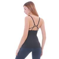 Eshtanga Yoga Tank Sexy Women Sport Yoga Gym Vest Clothes 4 Way Stretch Fabric Running Shirts