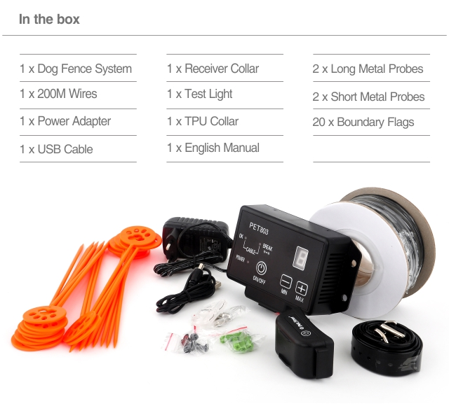 9th Electric Fence System PET803