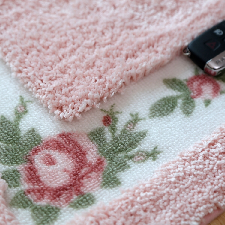 S&V Rose Pink Carpets Tapetes For Living Room Area Rugs