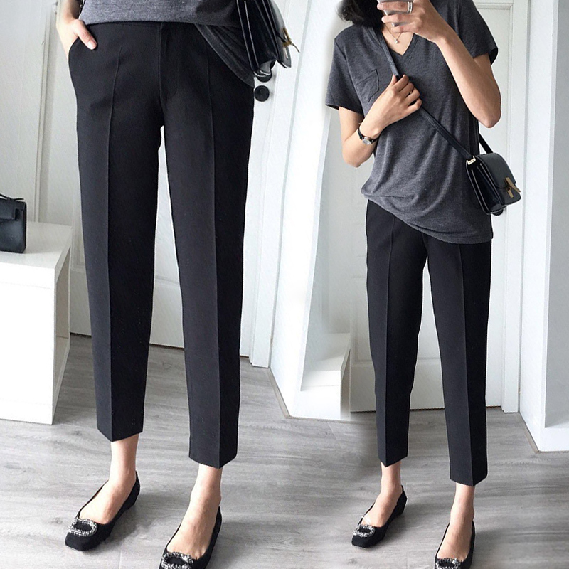 Maternity Nine-Cent Pants Maternity Business Wear pregnancy Pants cropped Trousers For Pregnant Women Pregnancy Pants For WorkMaternity Nine-Cent Pants Maternity Business Wear pregnancy Pants cropped Trousers For Pregnant Women Pregnancy Pants For Work