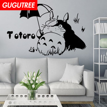 Decorate Home 58x45cm TOTORO art wall sticker decoration Decals mural painting Removable Decor Wallpaper LF-489 new diy wallpaper mangnolia flowers wall painting stickers home decor decoration removable art decals dnj998