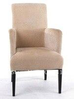 Gorąca sprzedaż hotelu metalowa sofa krzesło LUYISI8514  pianka o wysokiej gęstości  tkaniny o dużej wytrzymałości  2 sztuk/karton  bezpieczny pakiet w Krzesła hotelowe od Meble na