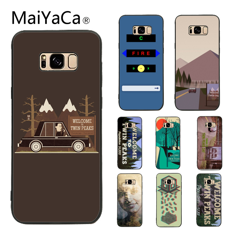MaiYaCa Welcome To Twin Peaks High Quality Phone Accessories Case For Samsung Galaxy S6 edge S7 edge
