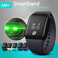 SAMTAO A88+ Smart Bracelet Sport Pedometer Band Heart Rate Fitness Watch SPO2H Blood Oxygen Monitor Wristband For iOS Android