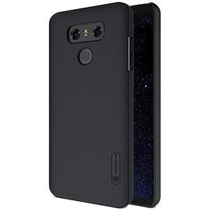 Image 1 - NILLKIN Ultra Slim Case für LG G6 Matt Schild Matte Harte Abdeckung Anti Slip Zurück Shell w/ free Screen Protector + Im Einzelhandel Paket
